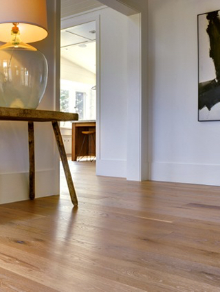 A beautiful wideplank floor