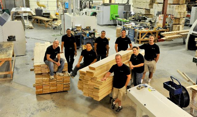 Woodwrights Wide Plank Craftsmen